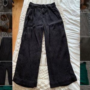 La Causa ribbed trouser